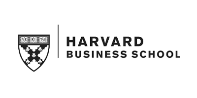 Image description: Harvard Business School logo