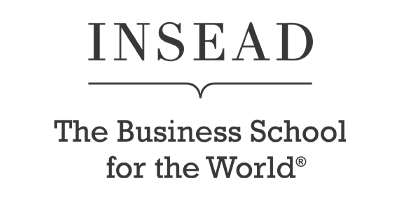Image description: Insead Business School logo