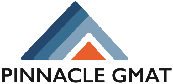 Image description: Pinnacle GMAT logo
