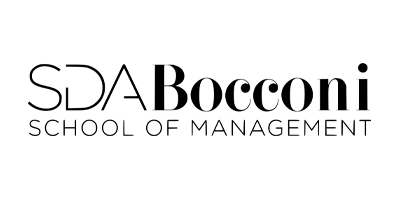 Image description: SDA Bocconi School of Management logo