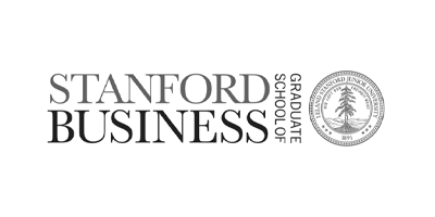 Image description: Stanford Business logo