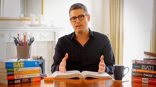 Image description: Photo of Paul explaining a topic